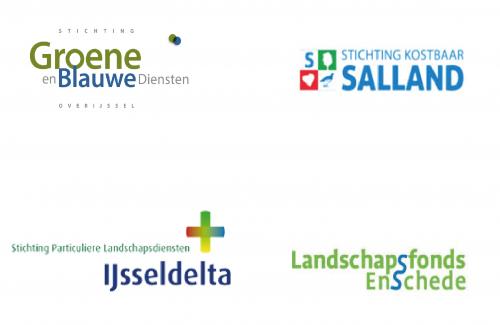Logo's stichtingen bij elkaar